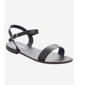 Ashley Stewart Sandal Wide width black